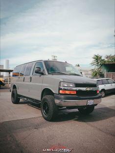 WeldTec Designs offers the Chevrolet Express Van Conversion Torsion Bar setup to build your ultimate overland adventure van. Chevy 4x4, Lifted Chevy, Chevrolet Trucks, Chevrolet Silverado, Chevrolet Astro, 4x4 Camper Van, 4x4 Van, Lifted Van, Ambulance