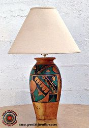 Southwest And Casual Lamps To Complement Your Southwestern Decor.