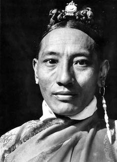 Tibetan nobleman   Lhasa, ca. 1938/9   ©Ernst Schäfer