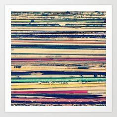 Vinyl Art Print by Laura Ruth | Society6