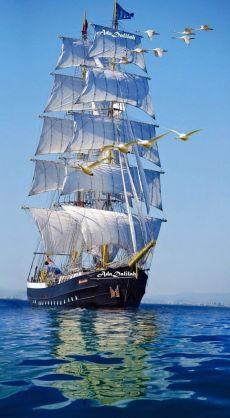 Bateau Pirate, Old Sailing Ships, Sailing Boat, Ship Drawing, Ship Paintings, Boat Art, Wooden Ship, Pirate Life, Tug Boats