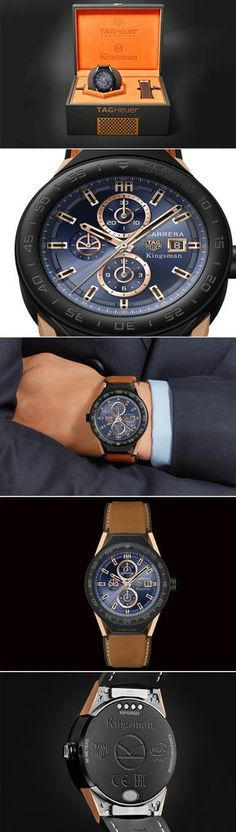 Limited Edition Kingsman Modular Connected Smartwatch. This is only for the chosen one.