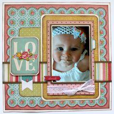 My Creative Scrapbook March Main Kit My Mind s Eye Hello Gorgeous