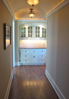 Great Built in. Could replace awkward hall closet