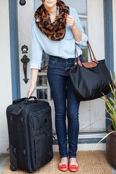 This link leads to How to pack in a carry-on for your honeymoon, but I just like the outfit!