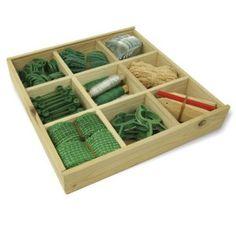 Coffre à outils de jardinage en bois – outils inclus