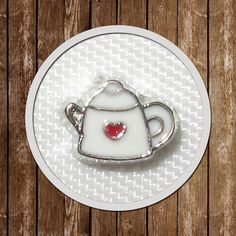1 Teapot Floating Charm memory locket  7.6mmx5.6mm by GCFindings