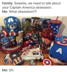 In my defense, some of them were gifts #CaptainAmerica #mintmintdoodles