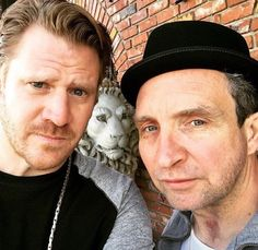 Ray Donovan actors Dash Mihok and Eddie Marsan - both play troubled characters…