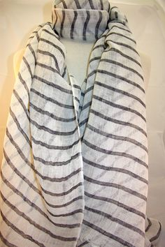 New Linen Scarves....only $32.