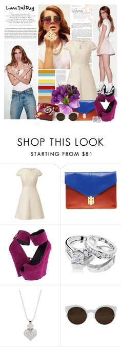 """""""National Anthem"""" by babovka ❤ liked on Polyvore featuring Stop Staring!, By Terry, Valentino, ASOS, Giuseppe Zanotti, King Baby Studio, Crosley, RetroSuperFuture and lana del rey"""