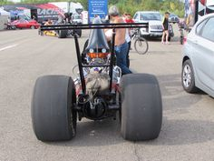 Tail and tire dragster @ Hills Race 12