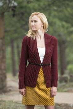 Women's Hand Knitted Wool Cardigan 4D