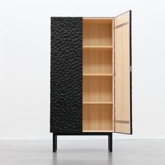 Havet is a hand-made cabinet with a wave-like surface, designed by Karl Johan Hjerling and Karin Wallenbeck.