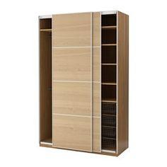 PAX Armario, efecto roble, Ilseng chapa roble - 150x66x236 cm - - - IKEA