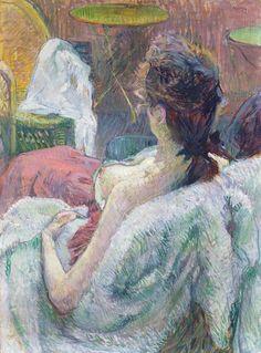 Henri de Toulouse-Lautrec (French, 1864-1901)  The Model Resting, 1889
