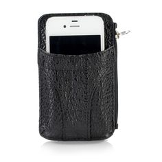 Check out this Nina Raye! Black Leather iPhone Wallet Case with an MSRP of $300.00, but available for $96.00 only @ nomorerack.com