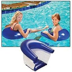 - Floating Chair Set of 2 Chairs Sets Lov, Chairs Sets I, Floating Chairs, Lakes Lake Floats, Pool Floats, Summer Pool, Summer Fun, Camping, Pool Chairs, Camp Chairs, Floating Chair, Pool Accessories