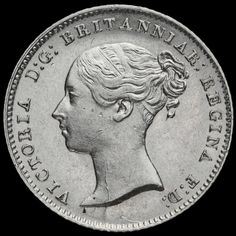 1838 Queen Victoria Young Head Silver Fourpence / Groat, EF