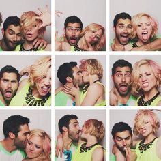 Tyler Hoechlin and Brittany Snow... consider me a jealous bitch.