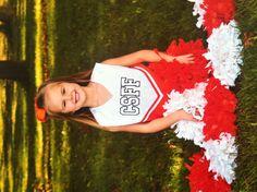 Julianna's 1st year Cheerleading!