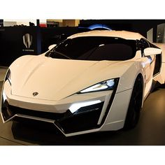 The new new Lykan Hyper Sport. This supercar will set you back a cool 3mill
