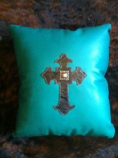 Beautiful Custom Made Western Pillows   Pick one or design your own.  www.rodeoleather.com