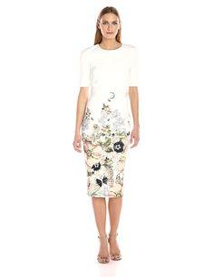 da45acd705bf98 Amazon.com  Ted Baker Women s Layli Gem Garden Bodycon Dress  Clothing