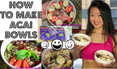 HOW TO MAKE ACAI BOWLS (PLUS CLEAN ICE CREAM RECIPE!)