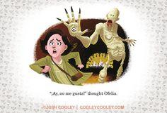Desenhista da Pixar recria cenas clássicas de filmes em livro infantil