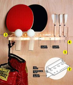 Make A Table Tennis Ping Pong Balls Holder And Dispenser