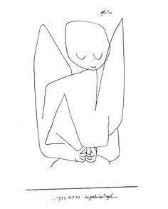 パウル・クレー「忘れっぽい天使-1939」