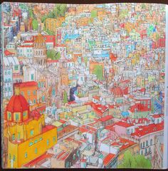 Fantastic Cities : pg.30 Guadalajara, Jalisco, Mexico #stevemcdonald #fantasticcities
