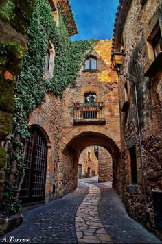 Pals. Girona. Spain.