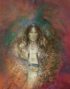 Starcatcher, Susan Seddon Boulet. she is one of my favorite Shamanic artists of all times.
