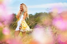 Sunshine kimono by Myee Caryle. Pretty boho chic outfit for summer.