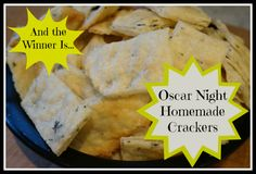 homemade cracker recipe