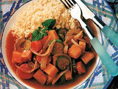 Ragoût de légumes au couscous