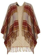 Camel Double Sided Cape