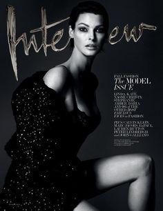 Stephanie Seymour photographed by Mert Alas & Marcus Piggott for Interview Magazine September 2013