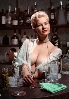 Janet Pilgrim, Playboy Playmate, October 1956