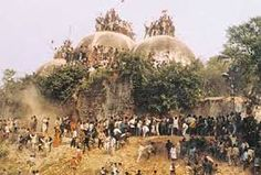 Mumbai (AsiaNews) - The destruction of the Babri Masjid (mosque of Babar) in 1992 was the result of a plan hatched by the leader of the Bharatiya Janata ...2000 people died inspite of govt. control