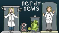 Sign up for Nerdy News, a science newsletter full of tools, tips, and science tricks plus exclusive freebies for your classroom!