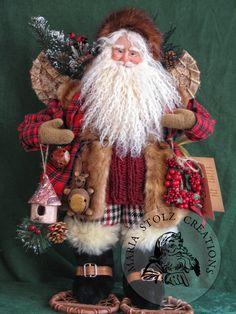 Maria Stolz's Santas and Christmas Dolls