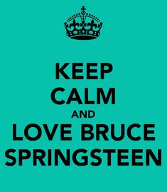 ....but his political stance is silly.  Keep singing Bruce we don't need to hear the other stuff.