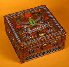 Ancient Egyptian Jewelry Box ancient Egypt Pinterest Ancient