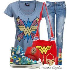 """Wonder Woman"" by natasha-gayden on Polyvore"