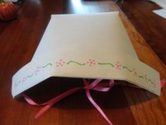 paper bonnet dress up craft