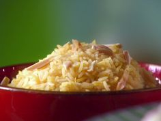 Saffron Basmati Rice recipe from Sunny Anderson via Food Network