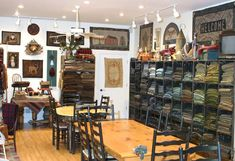 The other side of the room...Black Sheep Wool Designs